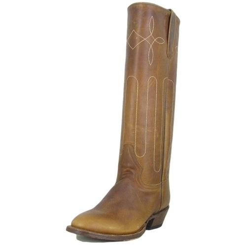 Macie Bean Western Boots Womens Leather Cowboy Tall Whiskey Bent