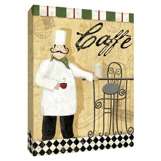 """PTM Images 9-154270  PTM Canvas Collection 10"""" x 8"""" - """"Chefs Break III"""" Giclee Chefs Art Print on Canvas"""