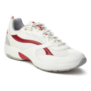 Prada Luna Rossa Leather Low-Top Sneaker Shoes White