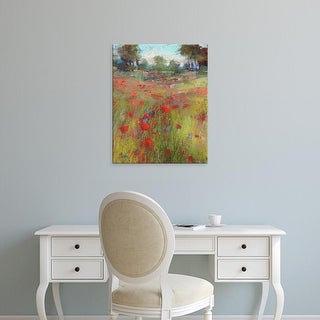 Easy Art Prints Karen Margulis's 'Big Meadow' Premium Canvas Art