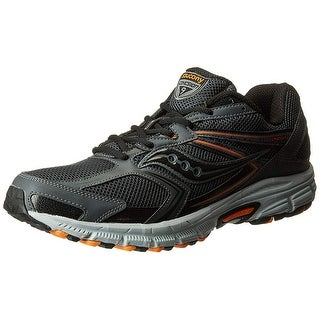Saucony Men's Cohesion Tr9 Running Shoe, Grey/Black/Orange, 11.5 W Us
