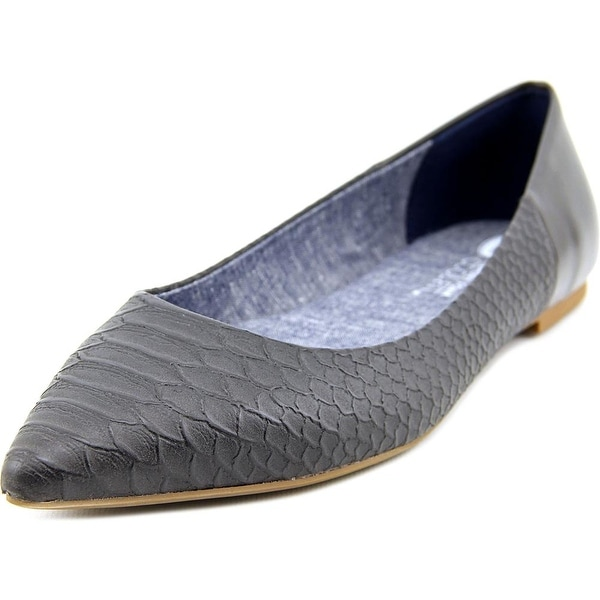 Dr. Scholl's Sidney Women  Pointed Toe Synthetic Gray Flats