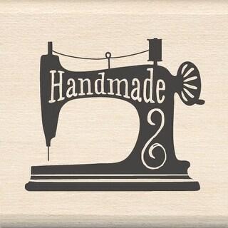 """Inkadinkado Mounted Rubber Stamp 1.5""""X1.5""""-Handmade Sewing"""