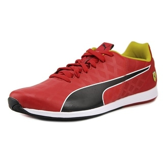 Puma EvoSPEED 1.4 SF NM Men Round Toe Leather Red Sneakers