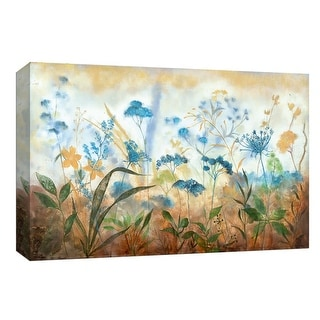 """PTM Images 9-147958  PTM Canvas Collection 8"""" x 10"""" - """"Blue Fields"""" Giclee Flowers Art Print on Canvas"""