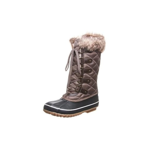"""Bearpaw Outdoor Boots Womens McKinley Lace Up 9"""" WP Insulated"""