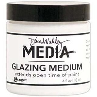 Dina Wakley Media Glazing Medium 4Oz Jar-