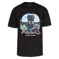 Mens Doberman Short-Sleeve T-Shirt