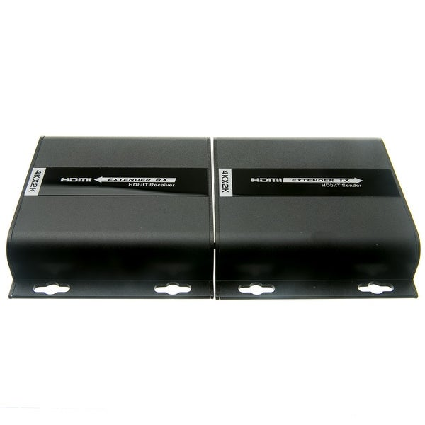 4K HDMI Extender ,over Cat5e/6/Local Network with IR return, 120 meter / 390 foot max range