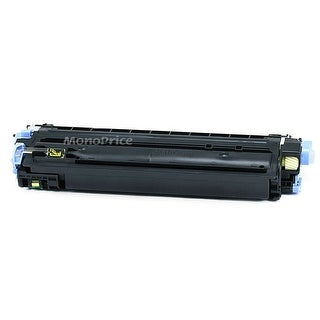 Monoprice Compatible HP Q6002A Laser Toner Yellow For use in Color LaserJet 1600 2600n 2605dn 2605dtn CM1017 CM1015 MFP