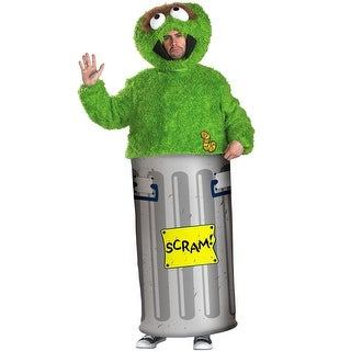 Disguise Oscar the Grouch Adult Costume - Green