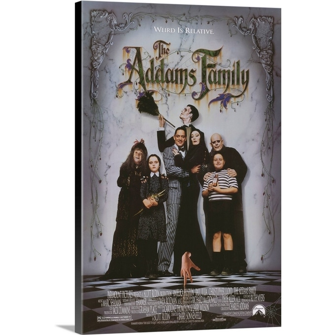 Shop The Addams Family 1991 Canvas Wall Art Overstock 24134584