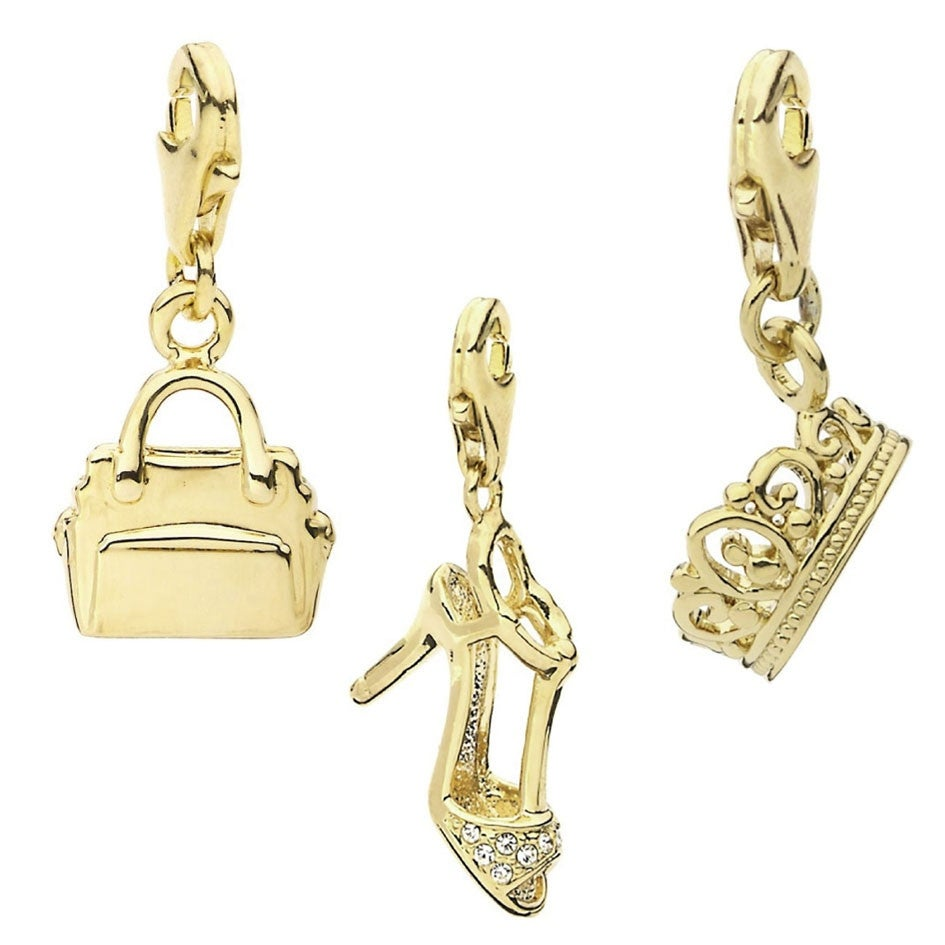4a678d468c7b7 Buy 14k Gold Charms Online at Overstock | Our Best Charms & Pins Deals