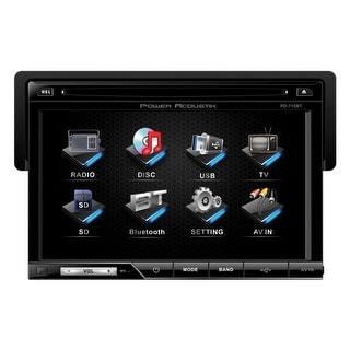 "Power Acoustik Oversized 7"" Detach Touch Screen Receiver TFT/LCD DVD AM/FM  Bluetooth A2DP"