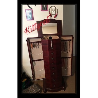Hives and Honey Robyn Cherry Jewelry Armoire Free Shipping Today