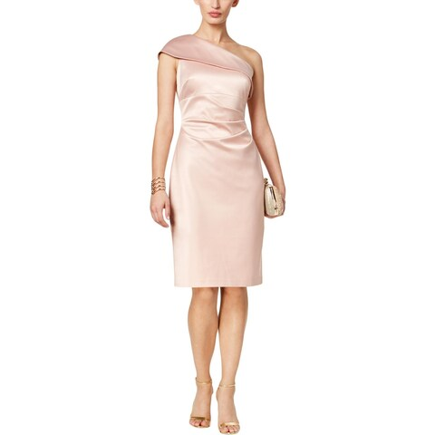 Vince Camuto Womens Special Occasion Dress Satin Knee-Length