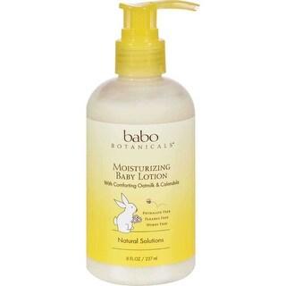 Babo Botanicals Oatmilk Calendula Moisturizing Baby Lotion - 8 fl oz