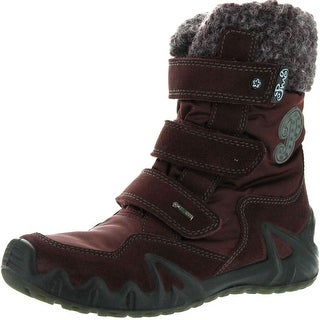 Primigi Girls Cassia Goretex Waterproof All Weather Fashion Boots - Burgundy - 34 m eu / 2-2.5 m us little kid