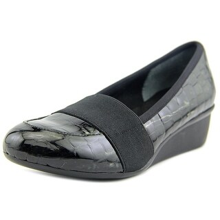 Ros Hommerson Erica WW Round Toe Patent Leather Loafer
