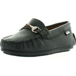 Venettini Boys 55-Toby Designer Buckle Dress Casual Loafers Shoes