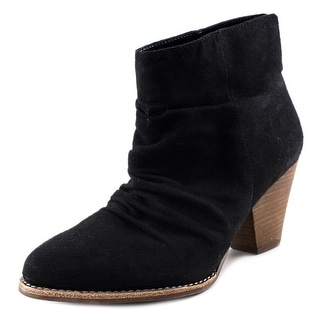 Diba Rung Round Toe Canvas Ankle Boot