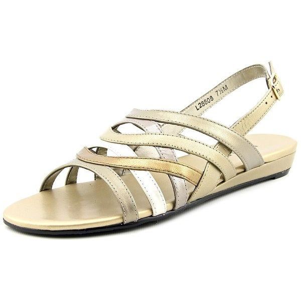 Mark Lemp By Walking Cradles Lanie Open-Toe Synthetic Slingback Sandal