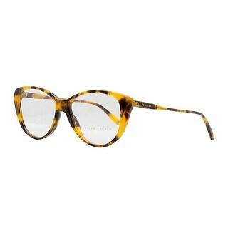 Ralph Lauren RL 6083 5332 Tropical Havana Plastic Womens Optical Frame