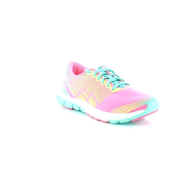 4874df3eacbe Shop Asics GEL-Lyte 33 Women s Athletic Flash Pink Lime Green - Free ...