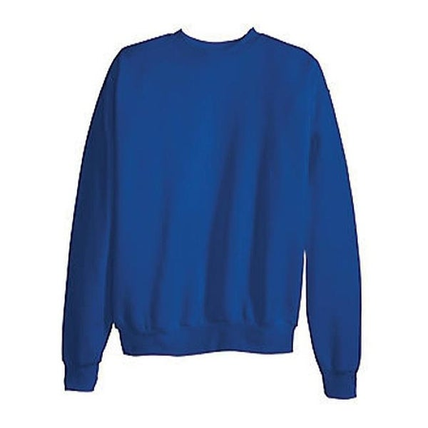 a91e3428 Shop Hanes Men's ComfortBlend Crew Sweatshirt (3 Pack) Deep Royal - Free  Shipping On Orders Over $45 - Overstock - 9707689