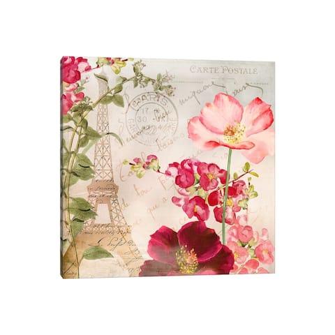 "iCanvas ""Always Paris I"" by Color Bakery Canvas Print"
