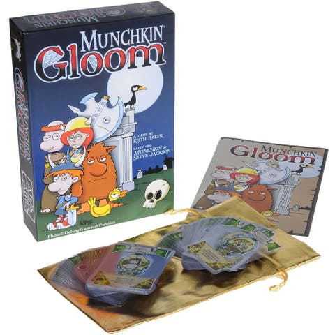 Munchkin Gloom Card Game - Multi