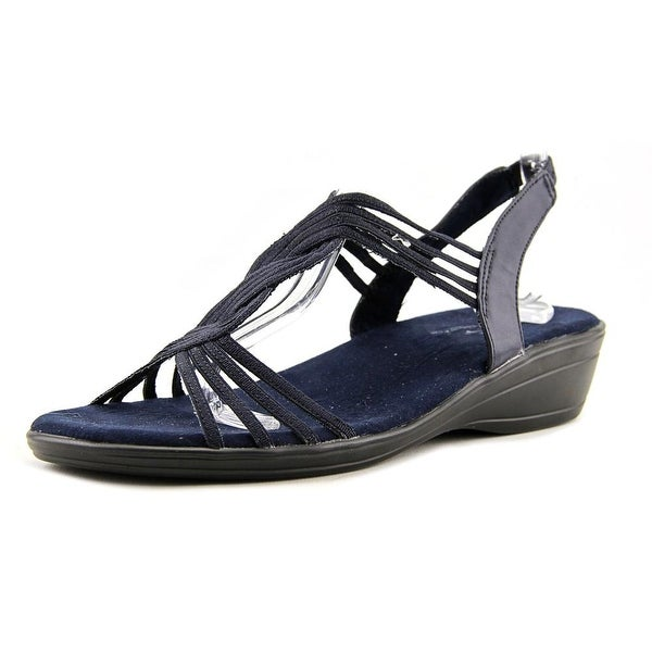 Easy Street Natara Women Navy Sandals