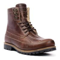 Crevo Men's Fairby Duck Toe Boot Chestnut Leather