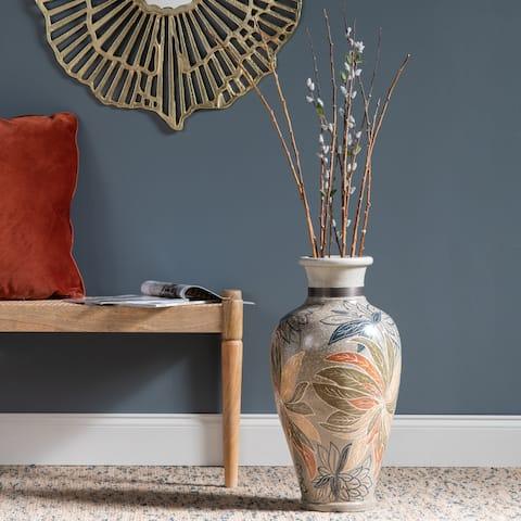 """Lillie 22.75"""" High Terracotta Vase"""