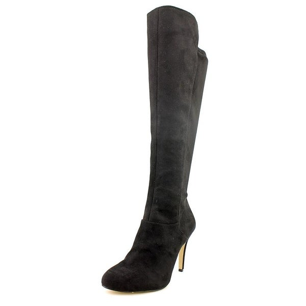 INC International Concepts Tacy Round Toe Synthetic Knee High Boot