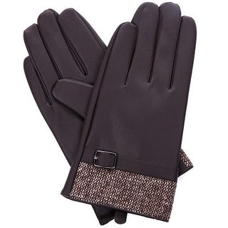 Mad Style No Tips Texting Gloves - Brown