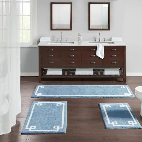 Madison Park Ethan Cotton Tufted Bath Rug