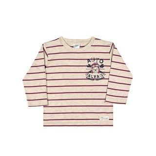 Baby Boy Shirt Winter Long Sleeve Striped Tee Infant Pulla Bulla 3-12 Months