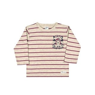 Baby Boy Shirt Winter Long Sleeve Striped Tee Infant Pulla Bulla 3-12 Months