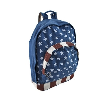 Canvas American Flag Stars and Stripes Backpack