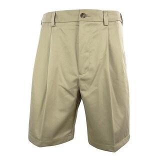 Roundtree & Yorke Men's Big & Tall Pleated Shorts