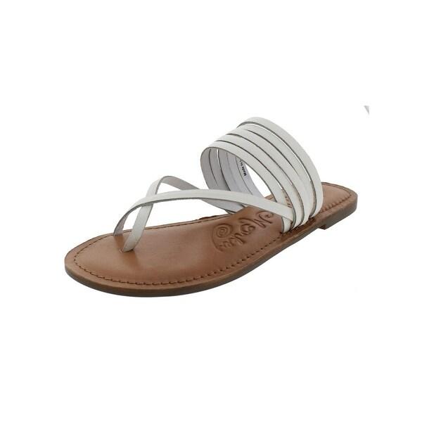 Naughty Monkey Womens Chrissy Slide Sandals Open Toe Casual