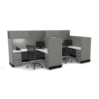 Link to Modern Office Furniture 53-67H 2pack Powered Similar Items in Desks & Computer Tables