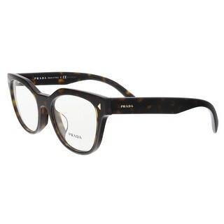 Prada PR 21SVF 2AU1O1 Havana Cat Eye Opticals - 53-19-140