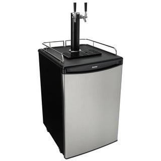 Danby DKC054A12 21 Inch Wide 5.4 Cu. Ft. Full Size Free Standing Kegerator with
