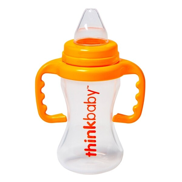 Thinkbaby Sippy Cup - Orange - 2 Pack