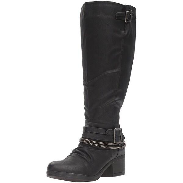 Carlos by Carlos Santana Womens santana Closed Toe Mid-Calf Fashion Boots