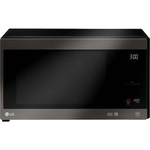LG LMC1575BD NeoChef 1.5 Cu. Ft. Countertop Microwave in Black Stainless Steel