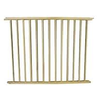 """Cardinal Gates VersaGate Hardware Mounted Pet Gate Extension Wood 40"""" x 30.5"""""""
