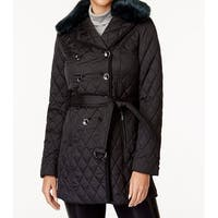 Laundry by Shelli Segal Black Women's Size XS Quilted Jacket